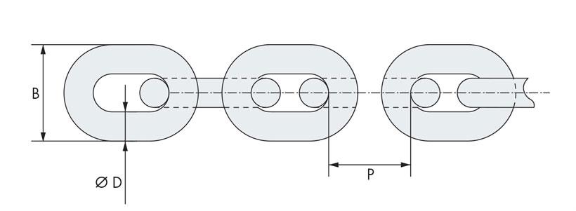 Technical design of nautical chain