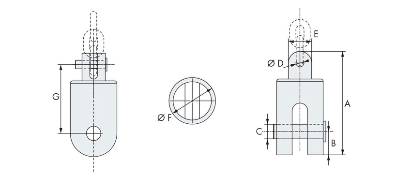 Technical design of swivel anchor connector