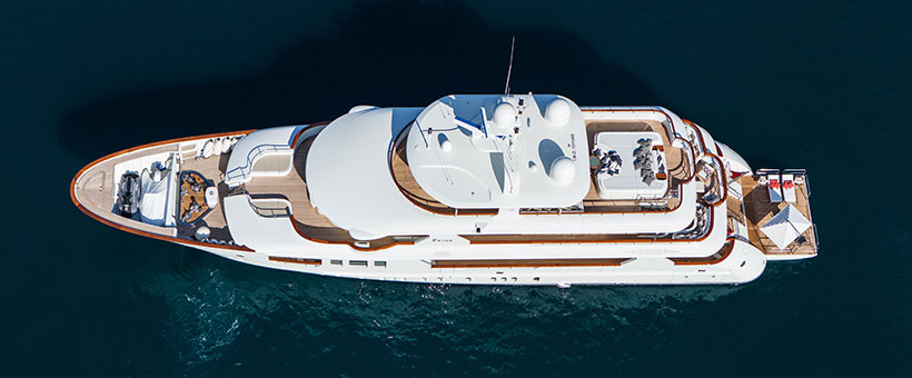 Custom systems for luxury yachts