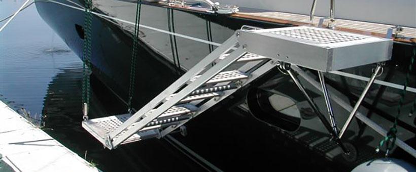 Manual Boarding Ladders Sanguineti Chiavari