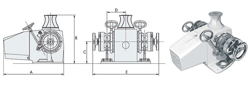 Technical design of boat windlass