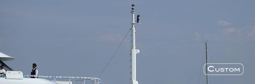 Light mast handling