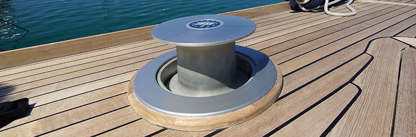 Deck equipments and capstans