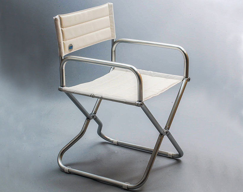 Smeralda aluminium chair