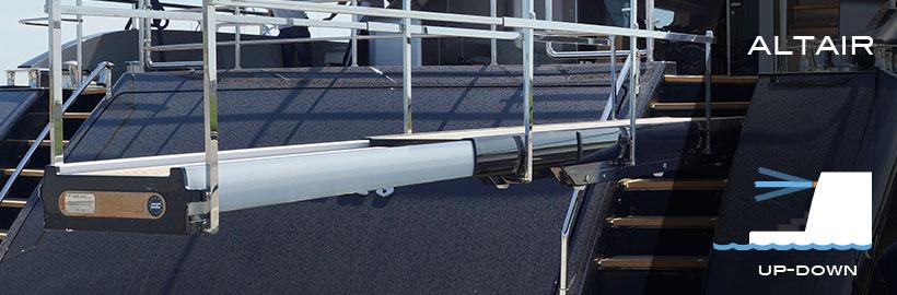 Altair telescopic gangways