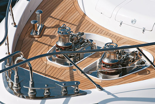 Yacht boarding equipments by Sanguineti Chiavari
