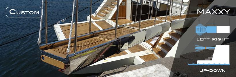 Passerelle nautiche per mega yacht