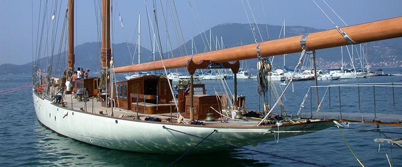 Prodotti custom per barche d'epoca