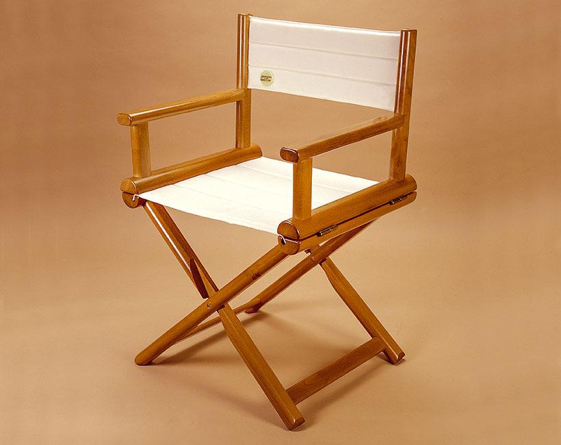 Sedia pieghevole in legno