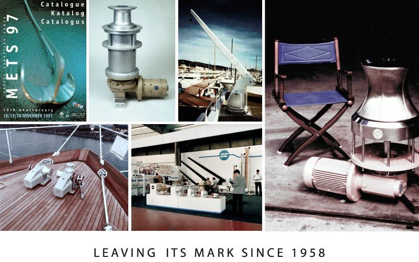 Storia prodotti per la nautica Sanguineti Chiavari