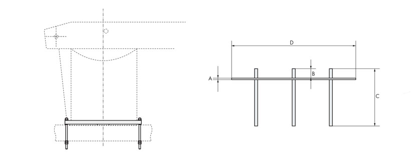 Technical design of fixing plates