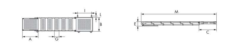 Technical design of manual boarding ladders